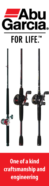 Click to view Abu Garcia products sold at The Fishin' Hole