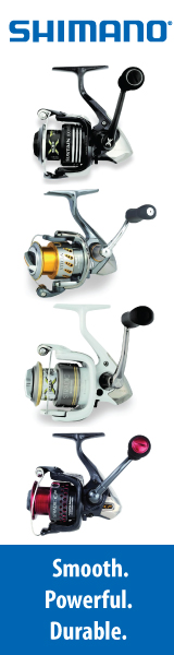 Click to view Shimano products sold at The Fishin' Hole