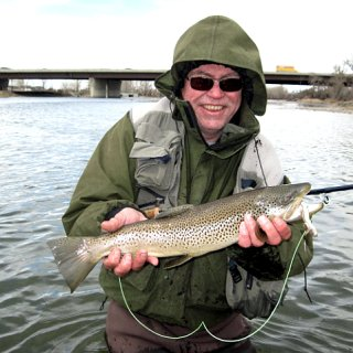 Fall is the time for large fish on large flies such as hoppers and streamers.
