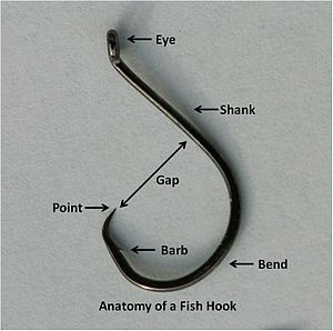 Every hook has the same general characteristics