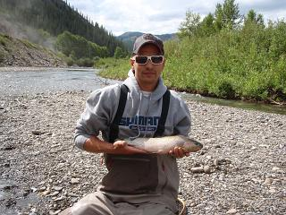 Wet fly success