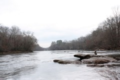 Anglers on Georgia's historic Chattahoochee River