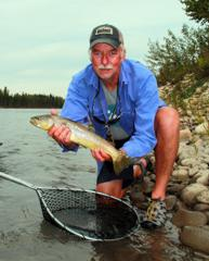 less popular waters trout fly fishing alberta