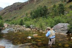 Elandspad River Africa trout fly fishing