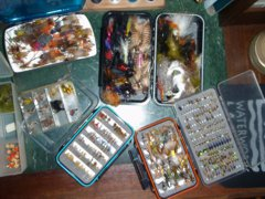 Fly selection can be a daunting task to the novice fly fisher