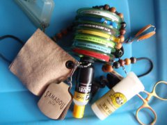 Basic tools and fly fishing accessories