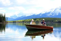 Fantastic scenery and great lake trout