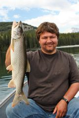 A lake trout to be proud of