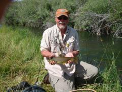Small stream Brown Trout success