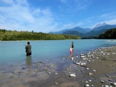 We all made the trip to the Squamish River