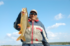 Lake trout are notorious followers - varying your speed as you retrieve will often trigger strikes.