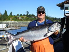 Every year some lucky fisherman or fisherwoman tags a mega chinook