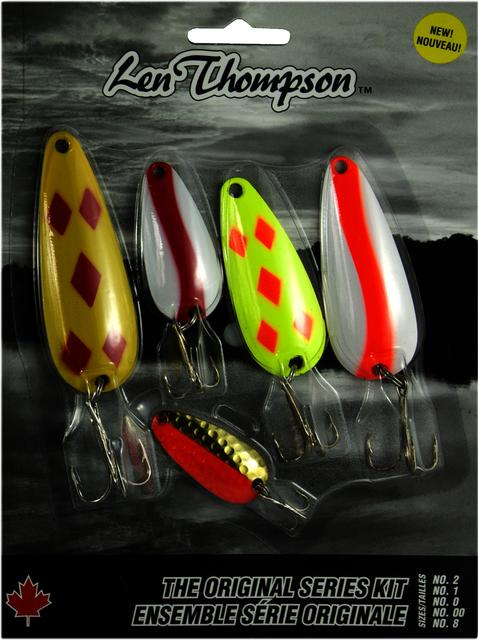 LEN THOMPSON fishing spoons 5 Pack The Fishin Hole