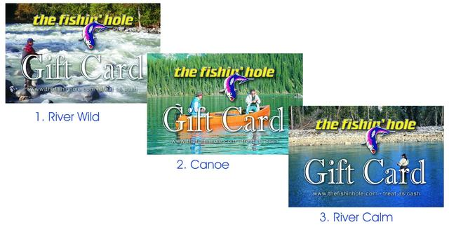 The Fishin Hole GIFT CARDS GC00125