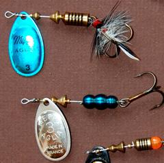 Perhaps no lure has caught as many trout as the versatile Mepps Aglia.