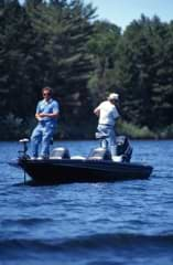 A tricked out walleye or bass boat represents the epitome of fishing boats.