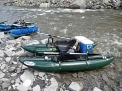 The manoeuverability of pontoon boats makes them well-suited for fast streams and rivers.