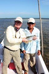 Bonefish from Belize .