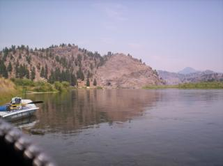 The Missouri River near Craig, Montana is like one big spring creek