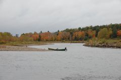 Atlantic salmon rivers everywhere are typically beautiful places to fish