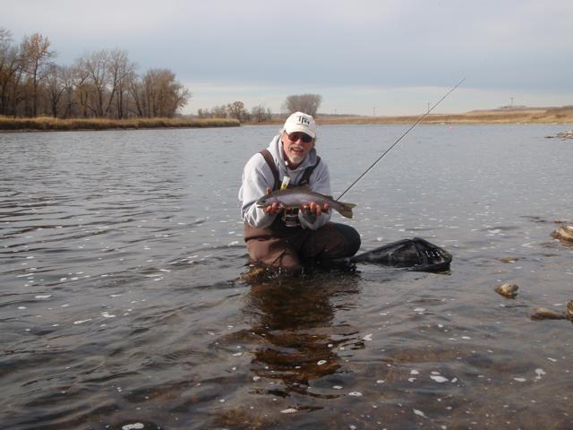 Fly fishing larger rivers fishing article by the fishin for Fishing spots finder