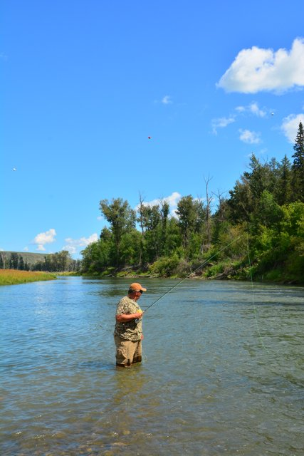 Old Man River Fishing Article By The Fishin Hole